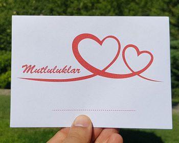 Takı Zarfı - Düğün, Nişan, Nikah